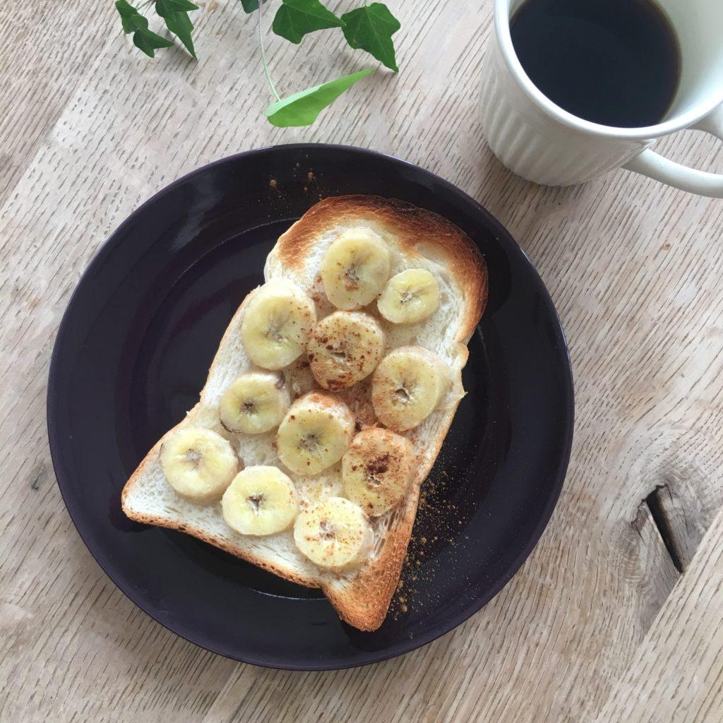 もったいないレシピ#01バナナトースト
